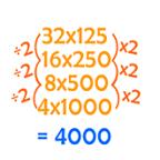 números difíceis de calcular mentalmente